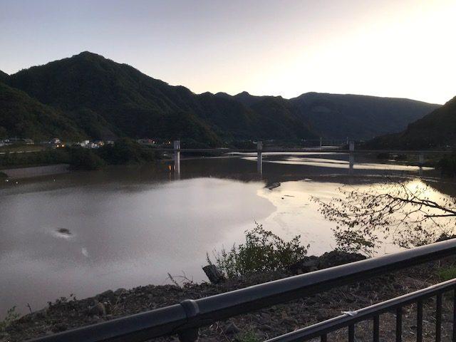 八ッ場ダム満タン